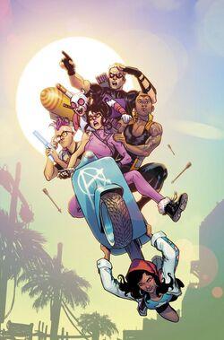 West Coast Avengers Vol 3 1 Textless