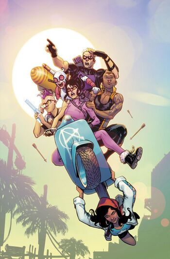 West Coast Avengers Vol 3 1 Textless