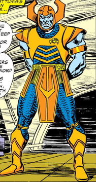 Attuma (Earth-616) fifth armor from Avengers Vol 1 272