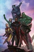 Avengers Vol 1 690 Lee Variant Textless