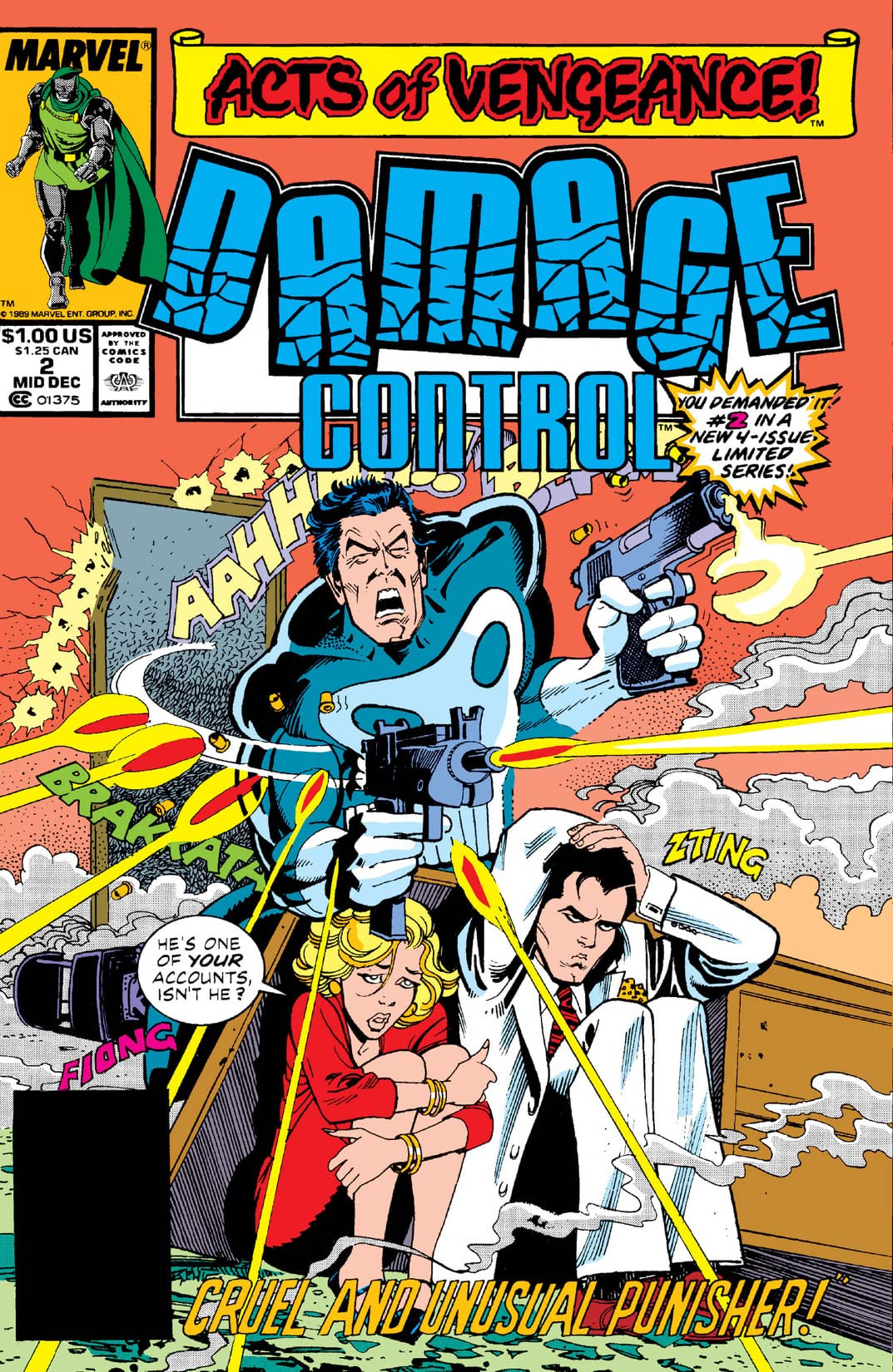 Damage Control Vol 2 2 Marvel Database Fandom Powered By Wikia