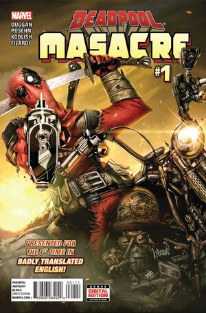 Deadpool Masacre Vol 1 1