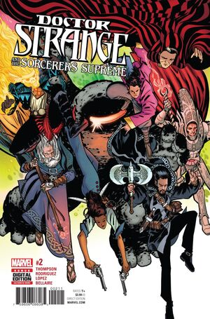 Doctor Strange and the Sorcerers Supreme Vol 1 2