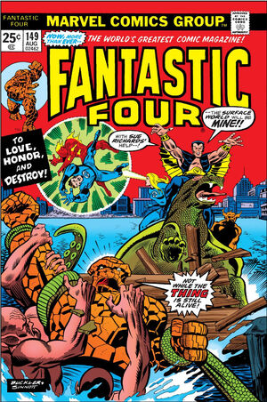 Fantastic Four Vol 1 149