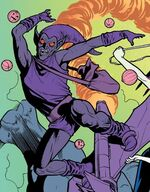 Green Goblin (Arcade Android) (Earth-616) from Ghost-Spider Annual Vol 1 1 001