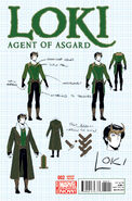 Loki Agent of Asgard Vol 1 2 Design Variant
