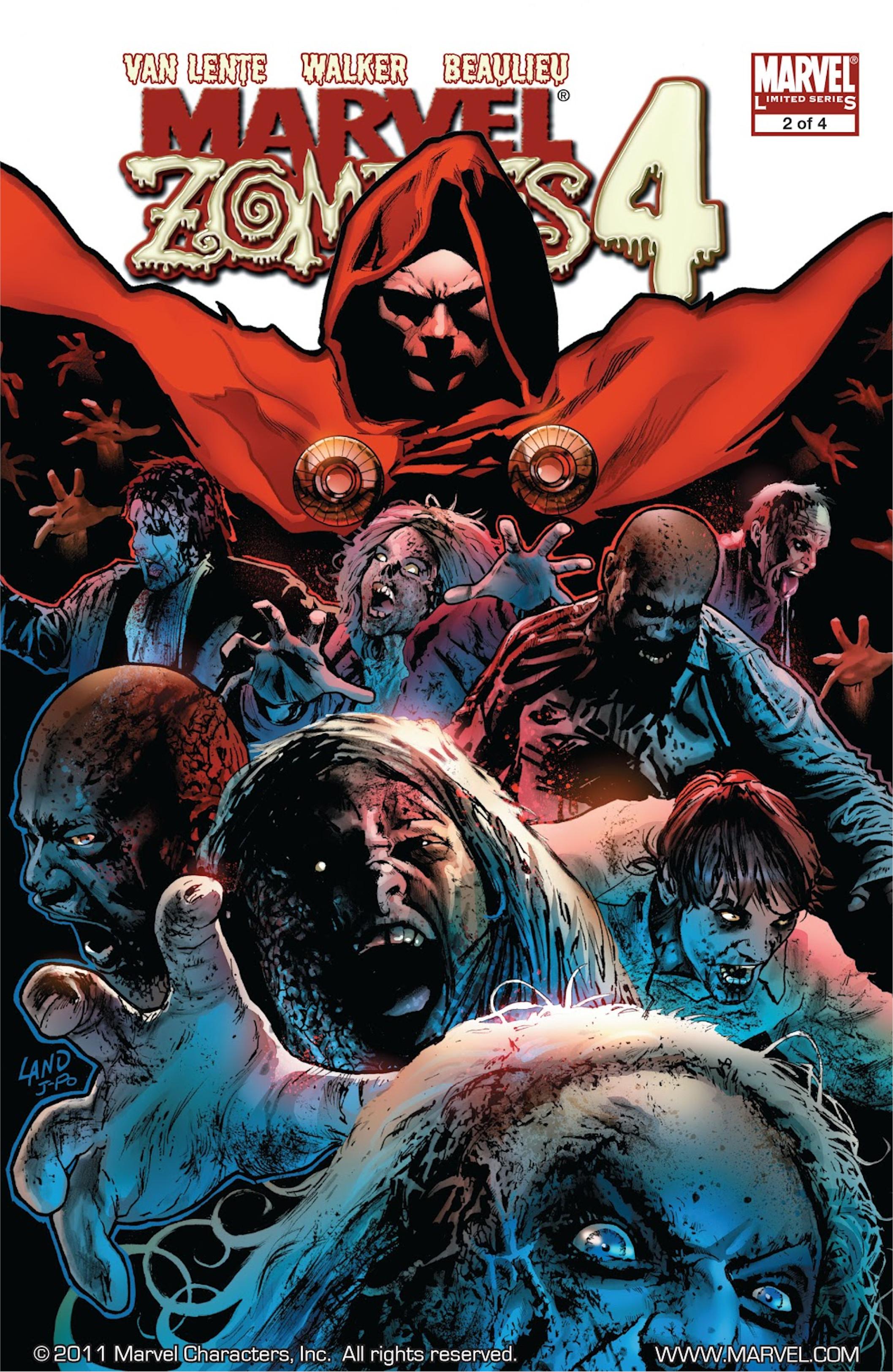 Marvel Zombies 4 Vol 1 2 - Marvel Database - FANDOM powered by Wikia Marvel Zombies 4 Vol 1 2 - 웹