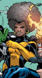 Mercedes Knight (Earth-8441) from Black Panther Annual Vol 1 1 0001
