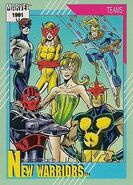 New Warriors (Earth-616) from Marvel Universe Cards Series II 0001