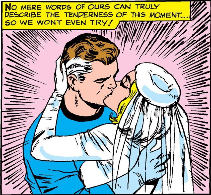 Image result for reed richards and sue storm wedding