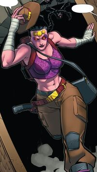 Shiklah (Earth-61610) from Mrs. Deadpool and the Howling Commandos Vol 1 1 001
