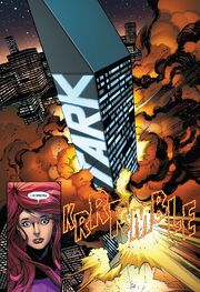Stark Tower (Times Square) from Uncanny Inhumans Vol 1 11 001