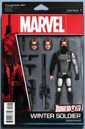 Thunderbolts Vol 3 1 Action Figure Variant