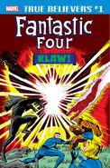 True Believers Fantastic Four - Klaw Vol 1 1