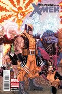 Wolverine and the X-Men Vol 1 1 Bradshaw Variant