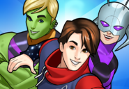 Young Avengers (Earth-TRN562) from Mavel Avengers Academy 003