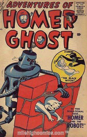 Adventures of Homer Ghost Vol 1 2
