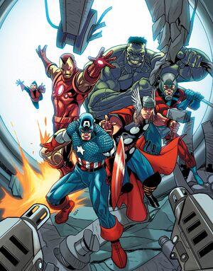 Avengers (Earth-14325) from Avengers Vol 5 25 0001