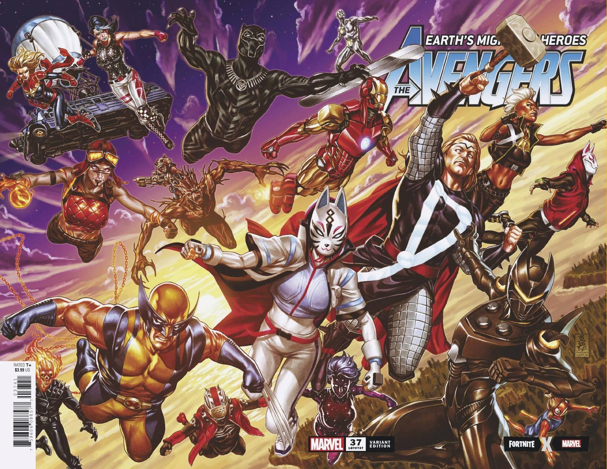 Avengers Vol 8 37 Fortnite Wraparound Variant.jpg