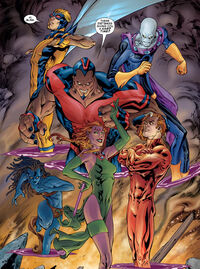 Exiles (Earth-33629) from Exiles Annual Vol 1 1 0001