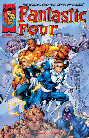Fantastic Four Vol 3 34