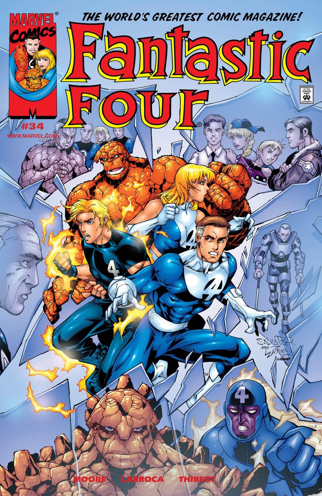 Fantastic Four Vol 3 34