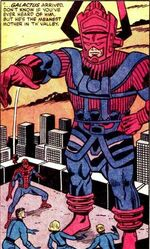 Galan (Earth-7940) from Marvel Two-In-One Vol 1 100 001