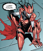Hive (Poisons) (Earth-17952) Members-Poison Scarlet Witch from Venomverse Vol 1 4 001