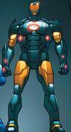 Iron Man Armor Model 42 from Iron Man Fatal Frontier Infinite Comic Vol 1 6 001