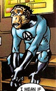 Jonathan Storm (Earth-8101) from Marvel Apes Vol 1 1 001