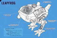 Leapfrog (Earth-616) from Marvel Vehicles Owner's Workshop Manual Vol 1 1 001