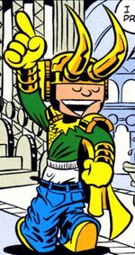 Loki Laufeyson (Earth-99062) Marvel Adventures Hulk Vol 1 6