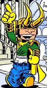 Loki Laufeyson (Earth-99062) Marvel Adventures Hulk Vol 1 6