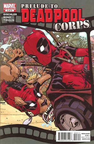 Prelude to Deadpool Corps Vol 1 3