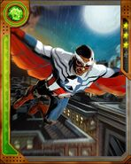 Samuel Wilson (Earth-616) from Marvel War of Heroes 001