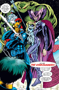 Starjammers (Earth-295) from Gambit and the X-Ternals Vol 1 2 0001