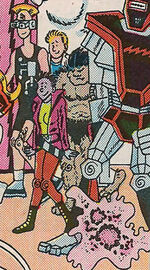 Whitman Knapp (Earth-77640) from Marvel Age Annual Vol 1 3 0001
