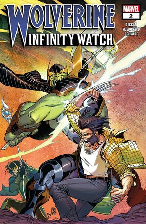 Wolverine Infinity Watch Vol 1 2