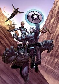 Avengers (Earth-11326) from Age of X Universe Vol 1 1 0001