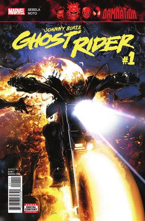 Damnation Johnny Blaze - Ghost Rider Vol 1 1