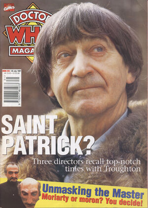 Doctor Who Magazine Vol 1 254