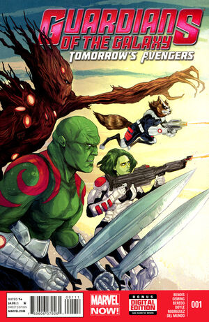 Guardians of the Galaxy Tomorrow's Avengers Vol 1 1