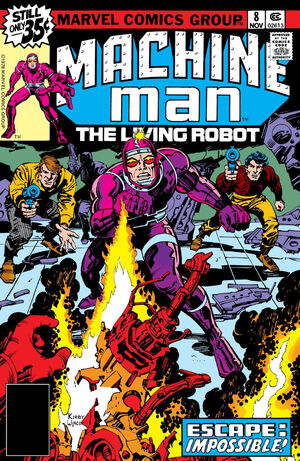 Machine Man Vol 1 8