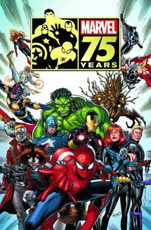 Marvel 75th Anniversary Magazine Vol 1 1 Textless