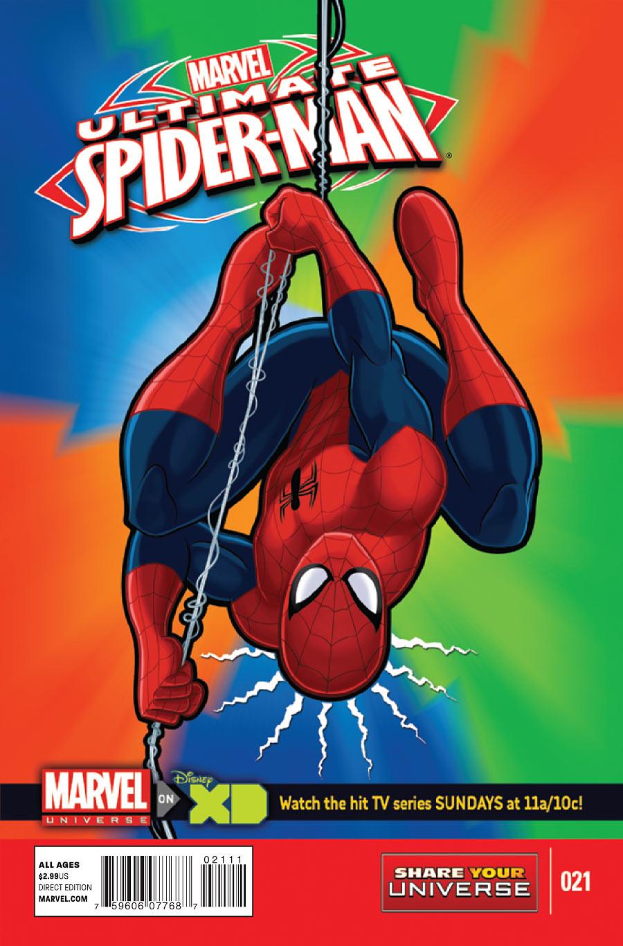 Marvel Universe Ultimate Spider Man Vol 1 21