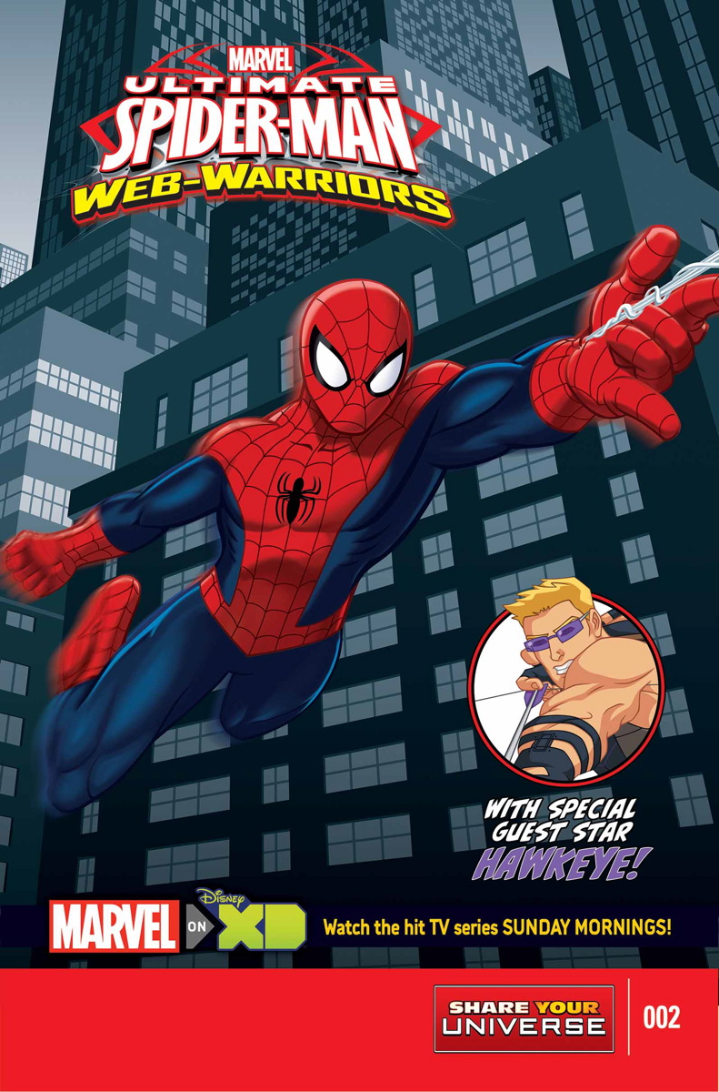 Marvel Universe Ultimate Spider-Man: Web Warriors Vol 1 2 | Marvel ...