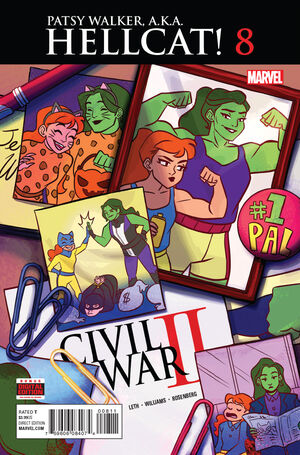 Patsy Walker, A.K.A. Hellcat! Vol 1 8