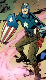 Steven Rogers (Earth-10091) from Free Comic Book Day Vol 2011 Captain America Thor 001