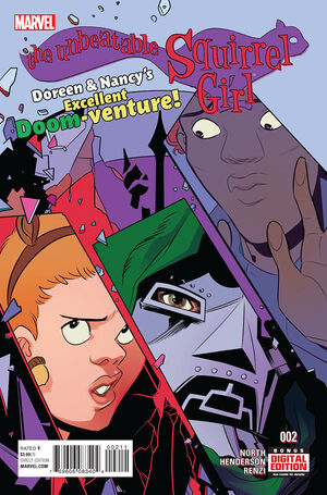 Unbeatable Squirrel Girl Vol 2 2