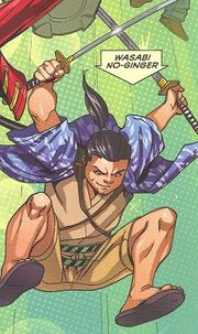 Wasabi-No Ginger (Earth-616) from Big Hero 6 Vol 1 1 0001